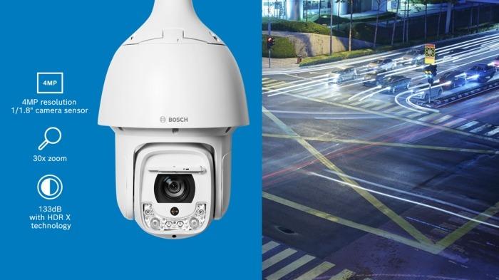 Τώρα διαθέσιμη: Η κάμερα AUTODOME IP starlight 5100i IR