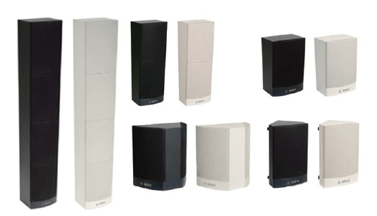 End of life Bosch Cabinet and Column Loudspeakers