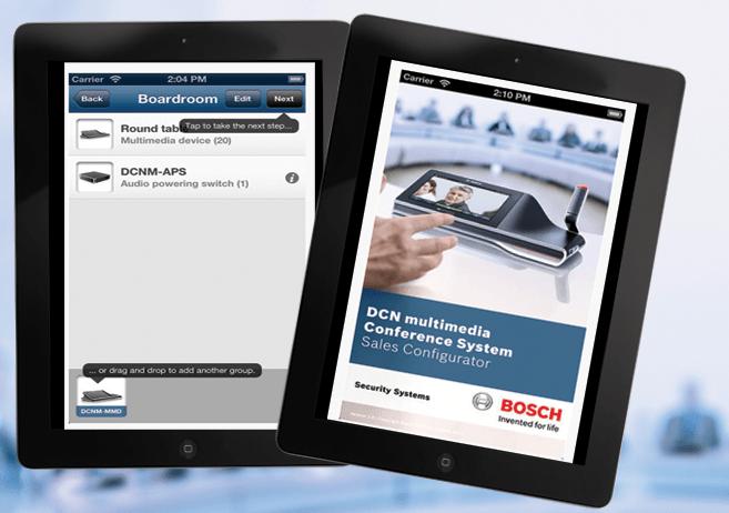 Εφαρμογή DCN Multimedia Sales Configurator διαθέσιμη στο appstore!