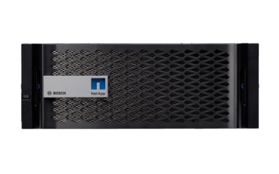 DSA E2800 – Εξαιρετικά αξιόπιστη αποθήκευση για δεδομένα μεγάλου όγκου από τη Bosch!